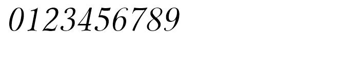 Miramar Italic Font OTHER CHARS