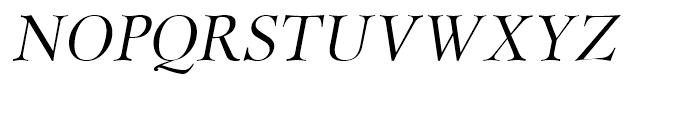 Miramar Italic Font UPPERCASE