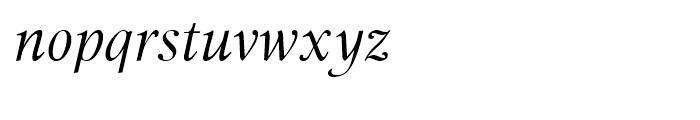 Miramar Italic Font LOWERCASE