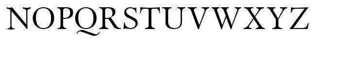 Miramar Roman SC Font UPPERCASE