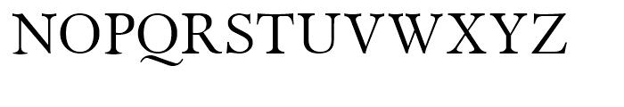 Miramar Roman Font UPPERCASE