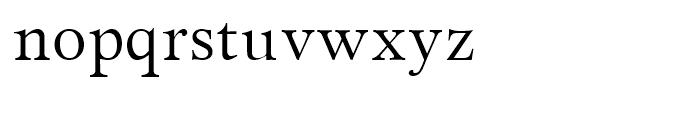Miramar Roman Font LOWERCASE