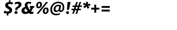 Miramonte Bold Italic Font OTHER CHARS