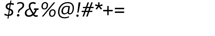 Miramonte Italic Font OTHER CHARS