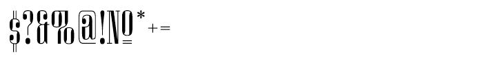 Miserichordia Regular Font OTHER CHARS
