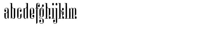 Miserichordia Regular Font LOWERCASE