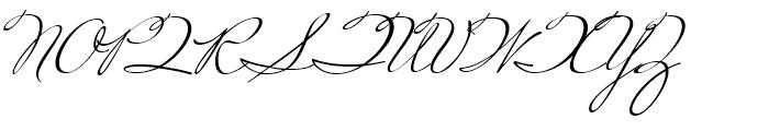 Miss Robertson Regular Font UPPERCASE