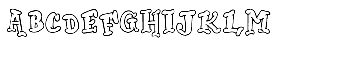 Mister Lincoln Lincoln Font UPPERCASE