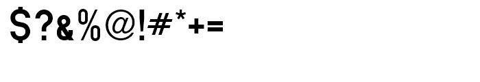 Mittelschrift Austria Standard D Font OTHER CHARS