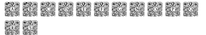 Mixed Capital Style Regular Font UPPERCASE