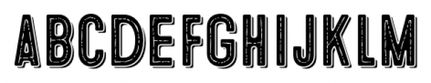 Microbrew Soft One Combined Font LOWERCASE