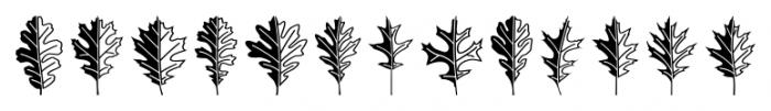 Mighty Oaks Regular Font LOWERCASE