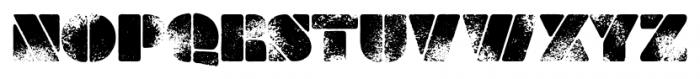 Milka Aged Font UPPERCASE