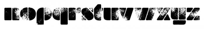 Milka Aged Font LOWERCASE