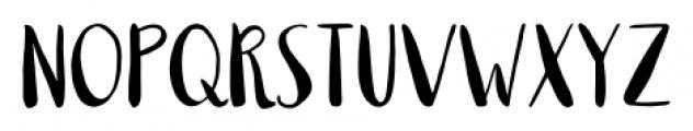 Milkmaid Regular Font LOWERCASE