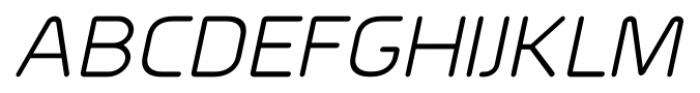 Millar Italic Font UPPERCASE