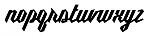 Millie Bold Font LOWERCASE