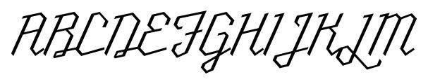 Millie Light Font UPPERCASE