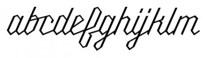 Millie Light Font LOWERCASE