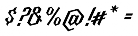 Millie Medium Font OTHER CHARS