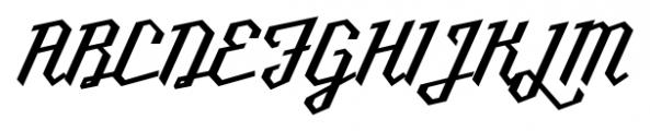 Millie Medium Font UPPERCASE