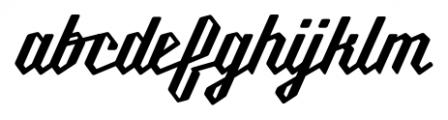 Millie Round SemiBold Font LOWERCASE