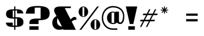 Millport JNL Regular Font OTHER CHARS