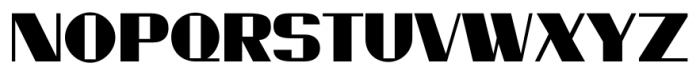Millport JNL Regular Font UPPERCASE