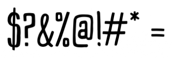 Mimbie Regular Font OTHER CHARS