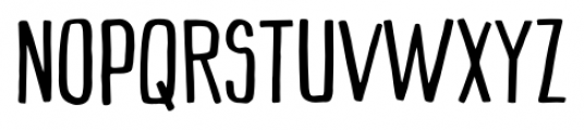 Mimbie Regular Font UPPERCASE