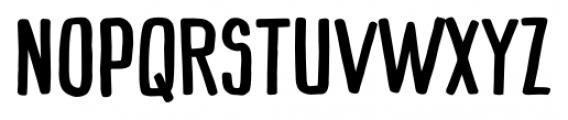 Mimbie SemiBold Font UPPERCASE