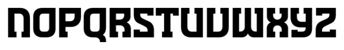 Minnesota Plaid Regular Font UPPERCASE