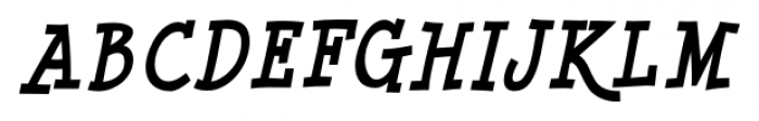 Minya Nouvelle Bold Italic Font UPPERCASE