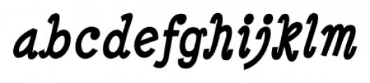 Minya Nouvelle Bold Italic Font LOWERCASE