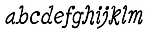 Minya Nouvelle Italic Font LOWERCASE