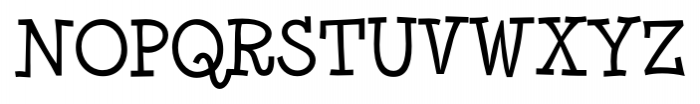 Minya Nouvelle Regular Font UPPERCASE