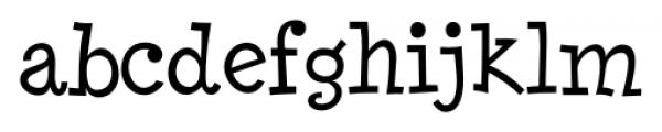 Minya Nouvelle Regular Font LOWERCASE