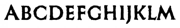 Missing Stone Regular Font UPPERCASE
