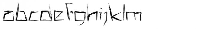 MISQOT Demi Bold Font LOWERCASE