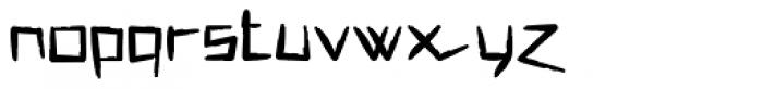 MISQOT Heavy Font LOWERCASE