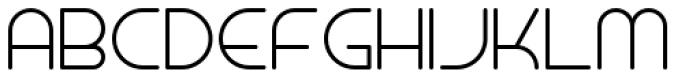 Miami Hopper Light Font UPPERCASE
