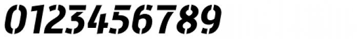 Mic 32 New Stencil Bold Italic Font OTHER CHARS