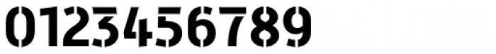 Mic 32 New Stencil Bold Font OTHER CHARS