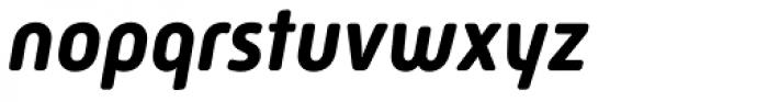 Mic32 New Rounded Bold Italic Font LOWERCASE