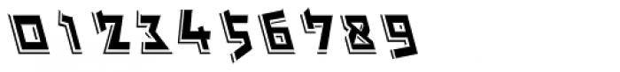Michael 3D MF Italic Font OTHER CHARS