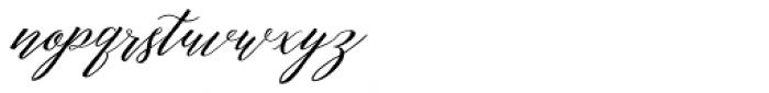 Michaela Script Regular Font LOWERCASE