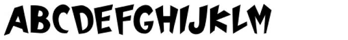 Mickster Font UPPERCASE