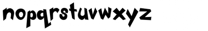 Mickster Font LOWERCASE