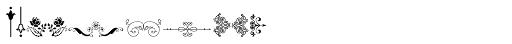 Micro Fleurons Fifteen Font OTHER CHARS