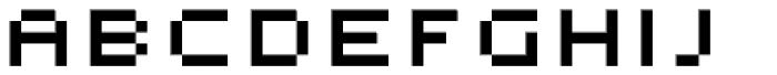 Micro Manager NF Font UPPERCASE